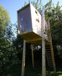 build a chic and modern tree house for you and your children
