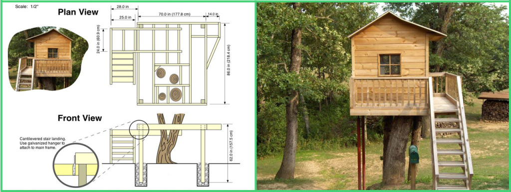 despite the fact that you and your children will probably be caught up in the thrill of planning and designing the tree house you should not forget the - Tree House Plans Metal Crate
